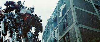 Transformers building