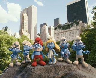 The smurfs nyc