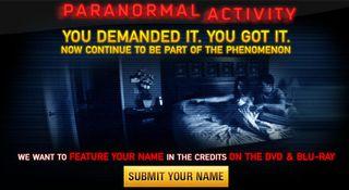 Paranormal-Activity viral