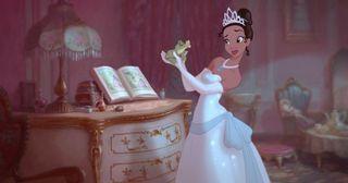 Princess and the frog disney noni