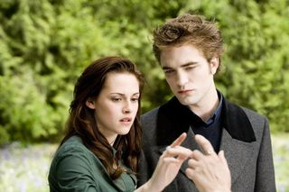 New moon bella edward touch