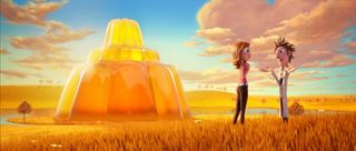 Jello sunset cloudy with a chance of meatballs