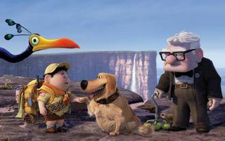 Up pixar cast