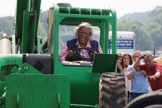 Madea tractor goes to jail