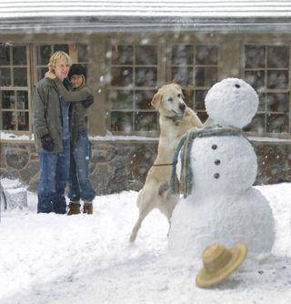 Marley me snowman