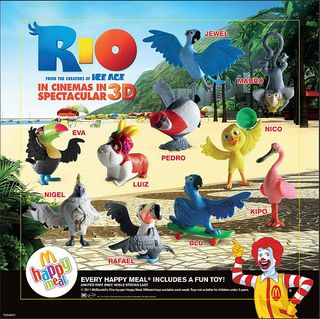 Happy meal rio promotion