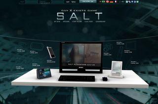 Salt video screen