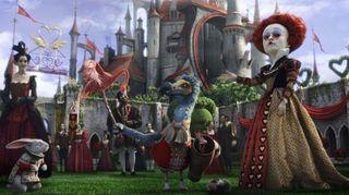 Red queen alice in wonderland