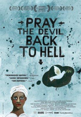 Pray the devil poster