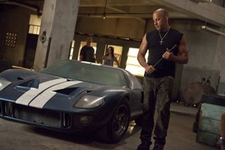 Fast five muscle car