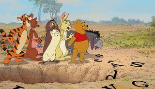 Winnie the pooh group
