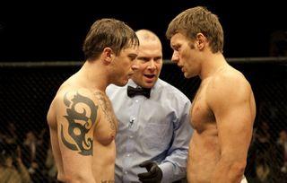 Warrior joel edgerton tom hardy in the ring