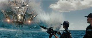 Battleship alien rihanna