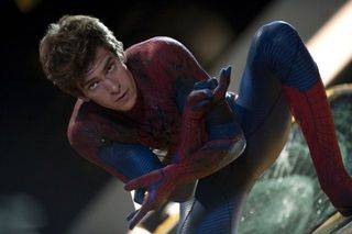 Amazing Spider Man Andrew Garfield spider webs