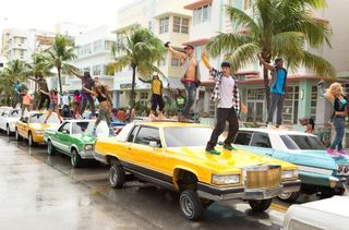 Step up revolution vintage cars
