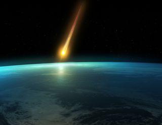 Earth meteor