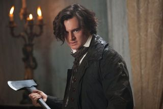 Abraham lincoln vampire hunter axe 1