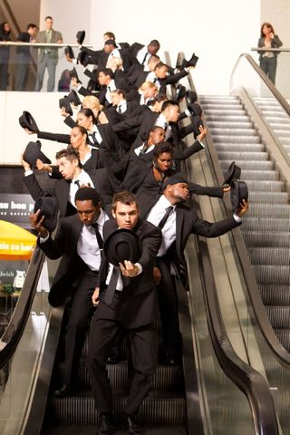 Step up revolution flash mob