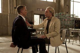 Skyfall Javier Bardem Daniel Craig