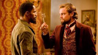Django unchained leo dicaprio jamie foxx