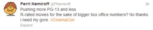 Perri Nemiroff  PNemiroff  on Twitter CinemaCon
