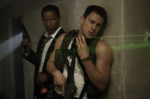 White house down jamie foxx channing tatum